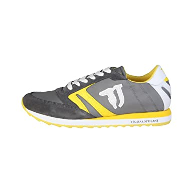 Trussardi Men Grey Sneakers