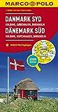 Marco Polo Denemarken Zuid - Kolding, Kopenhagen, Bornholm: Wegenkaart 1:200 000 (Dutch Edition)