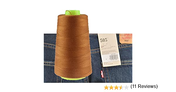 chengyida 1 bobina de hilo de coser para pantalones vaqueros para ...