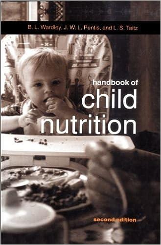 Handbook of Child Nutrition (Oxford Medical Publications)