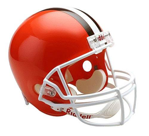 (NFL Cleveland Browns Deluxe Replica Football Helmet)