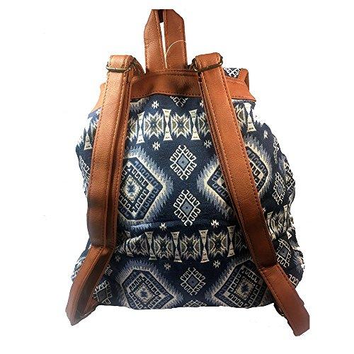Monroe , Damen Rucksackhandtasche Blau blau