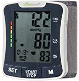 Slight Touch FDA Approved Fully Automatic Wrist Digital Blood Pressure Monitor ST-501 Batteries and Case Included