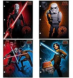 Mead Star Wars Rebels 2-pocket Paper Folder, Set of 4