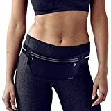 Fitters Niche UltraSlim Waist Fanny Packs, Water Resistant Reflective Adjustable Outdoor Sports Running Belt , Fit IPhone X 8 Plus, Samsung Note 8, Idea for Cycling, Walking, Hiking, Fitness