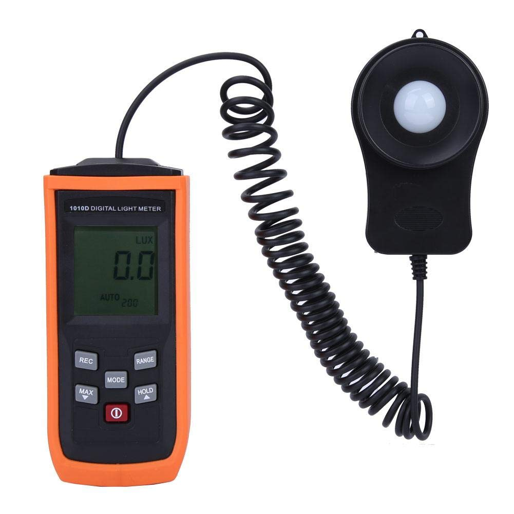 200000Lux Illumination LCD Display Illuminance Meter Precision Brightness Meter by Wal front