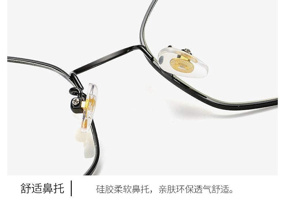 No Degree Flat Mirror Irregular Personality Trend Anti-Blu-Ray Glasses,///Radiation Retro Silver