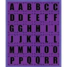K&Company Purple Contemporary Alphabet Die-cut Stickers