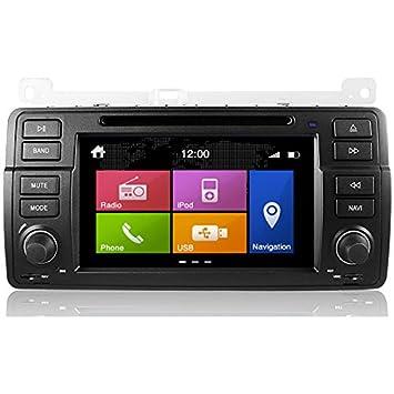 "2DIN DYNAVIN N6 - 7"" BMW E46: NAVEGADOR GPS, BLUETOOTH PARROT, CD"