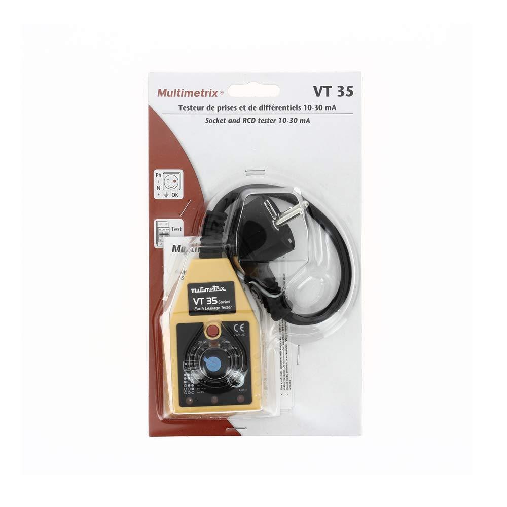 Multimetrix VT 35 Comprobador de tomas y diferenciales