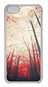 iPhone 5c case, Cute Sense Of Autumn iPhone 5c Cover, iPhone 5c Cases, Hard Clear iPhone 5c Covers