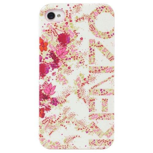 Kenzo CHIARA blanche fleuri iPhone dp BJKI