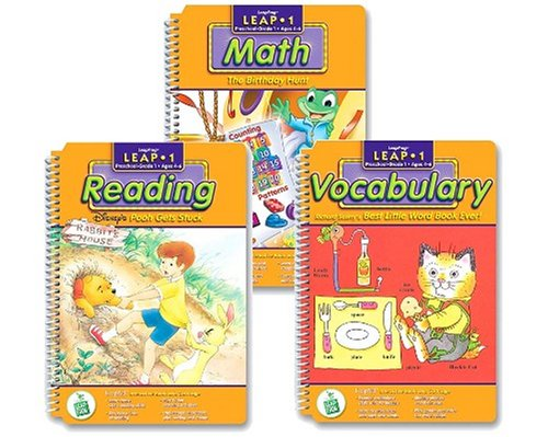LeapPad Interactive Learning Books pack