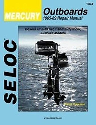 Seloc Mercury Outboards, Repair Manual, 1965-89 (Seloc Publications Marine Manuals)
