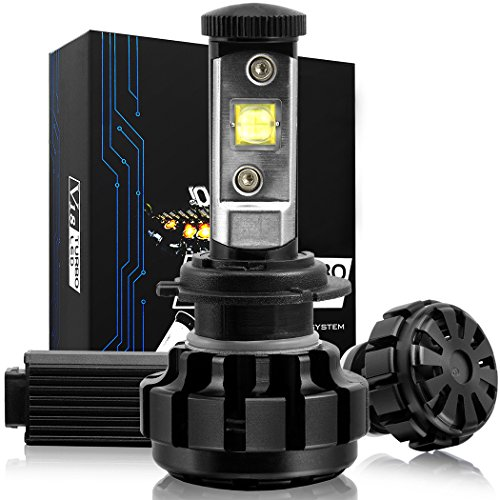 NINEO LED Headlight Bulbs Conversion Kit w/ Clear - H7 - 60W 6K 7,200Lm CREE - 3 Yr Warranty (H7 Led Error Free Headlight Bulb compare prices)