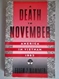 A Death in November, Ellen J. Hammer, 0195206401