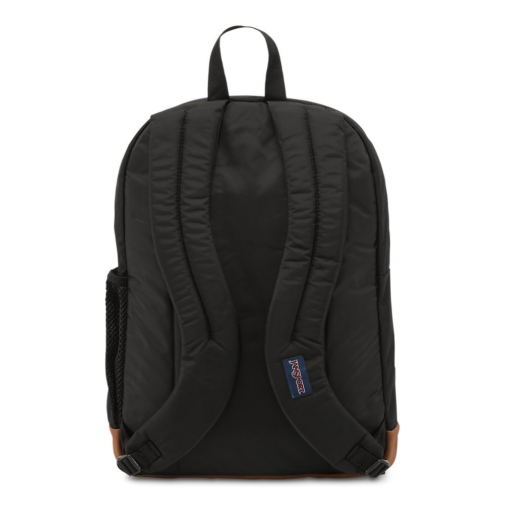 JanSport Mens Classic Mainstream Cool Student Backpack - Black / 17.7H X 12.8W X 5.5D by JanSport (Image #3)