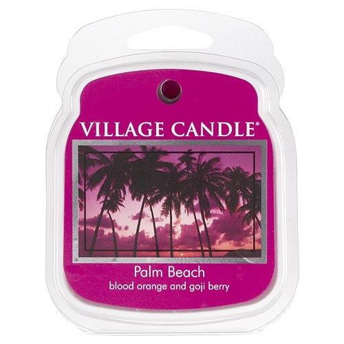 Village Candle Paquete de Trozos, Ceras para Lámparas de Aromáticas, Cera, Rose, 8.6x7.3x3 cm