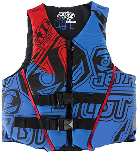 Jetpilot Enforcer USCG Approver PFD (Small, Blue)