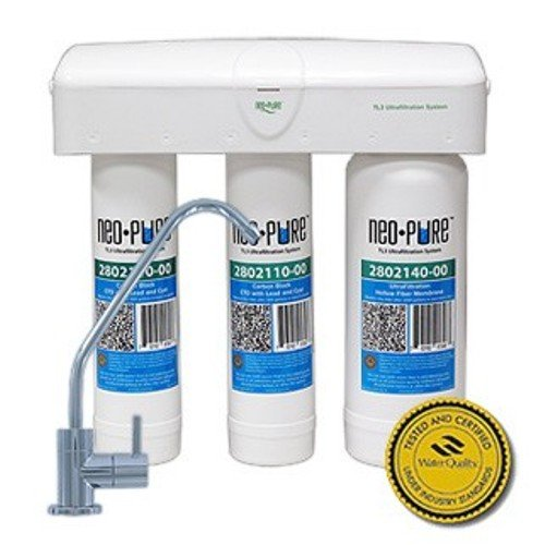 Neo-Pure TL3 Ultrafiltration Under Sink Water Filter System by Neo-Pure