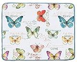 Kay Dee Designs A8990 Butterfly Garden Microfiber Countertop Drying Mat