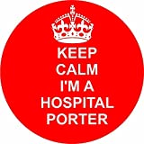 hospital porter 12 of RED Edible cupcake cake toppers (38mm - 1.5inch) pre cut - ready to use wafer paper discs by The Lazy Cow