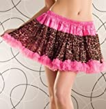 Leopard Petticoat (Packaged) (Pink;Plus Size)