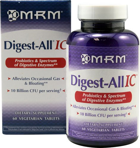 MRM Digest-All IC -- 60 Vegetarian Tablets - 2pc