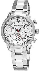 Stuhrling Original Men's Monaco Chronograph Multifunction Stainless Steel Date Watch