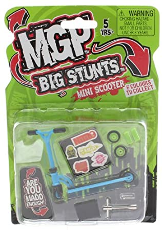 Amazon.com: MADD Gear MGP Big Stunts – Patinete de dedos ...