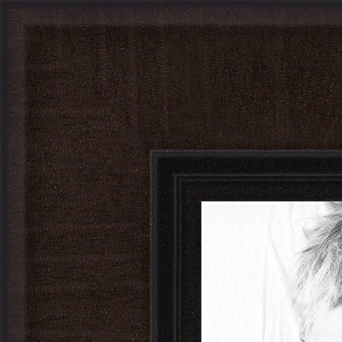 ArtToFrames 8.5x14 inch Windsor Walnut Picture Frame, WOMBW14-WW-8.5x14