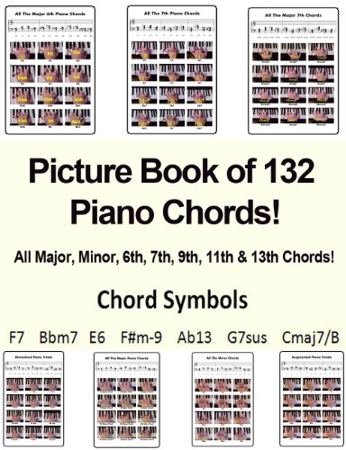 Amazon Picture Book Of 132 Piano Chords Success In Music 7