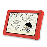 """AOSON 7 Inch Kids Tablet 16GB Android 6.0 Quad Core KIDOZ Pre installed with Parental Control-iWawa Wifi Bluetooth Dual Camera 2.0 HD Video 3D Game M753-S1 7"""" Tablets PC (Red)"""