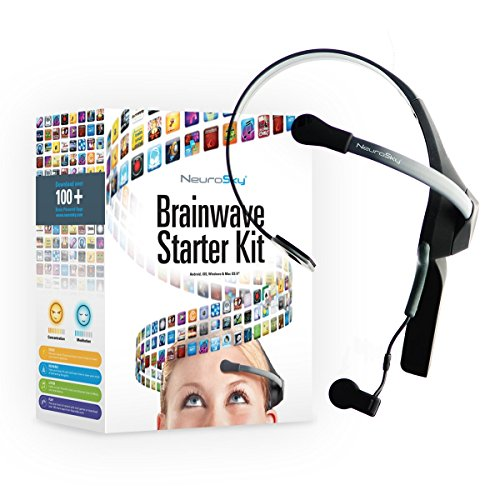 - NeuroSky MindWave Mobile 2: Brainwave Starter Kit