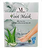 Foot Peel Mask with Aloe Vera 2 Pairs! Exfoliates Calluses & Dead Skin, Repair Rough Heels - Baby Your Feet by Laniesa - 2 Treatments per Box!! Leaves your feet feeling soft to the touch.