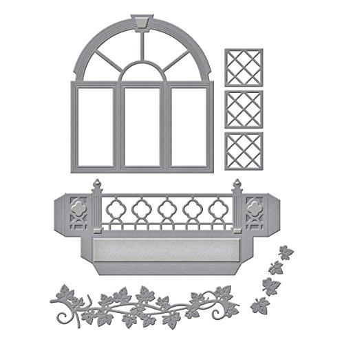 Spellbinders S5-266 Shapeabilities Decorative Flower Box Etched/Wafer Thin Dies by Spellbinders