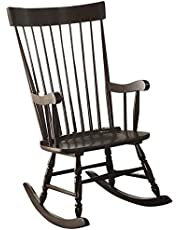 ACME Furniture 59297 Arlo Rocking Chair, Black