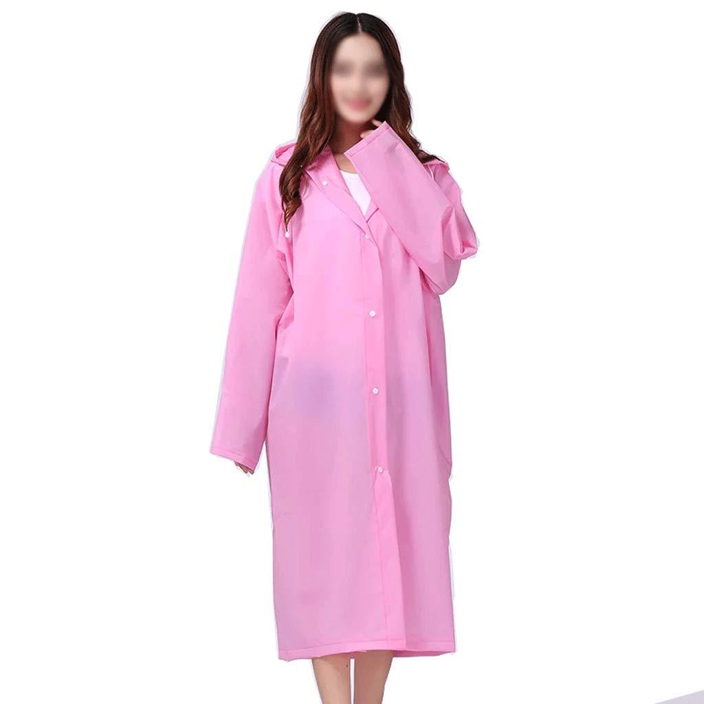 rose S-1 pack Xuejuanshop-Vestes coupe-pluie Non-jetable Long Imperméable Adulte épaississeHommest épaississeHommest Simple Poncho Voyage portable Imperméable Imperméable