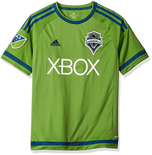 MLS Seattle Sounders Fc Boys Youth Replica Short Sleeve Jersey, X-Large, Green