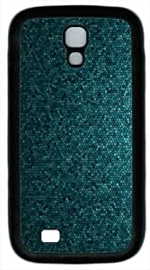Samsung Galaxy S4 Case and Cover - Textures Simple Purple Green TPU Samsung Galaxy S4 / SIV/ I9500 Case Cover - White