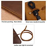 Travel Cord Organizer(Leather), Electronics Travel