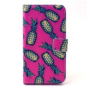 Painted Colorido Serie PU Cuero Cartera Caso cubrir Funda para Samsung Galaxy S6 Case Carcasa protectora piel Shell con ranuras Tarjetas (Y25#)