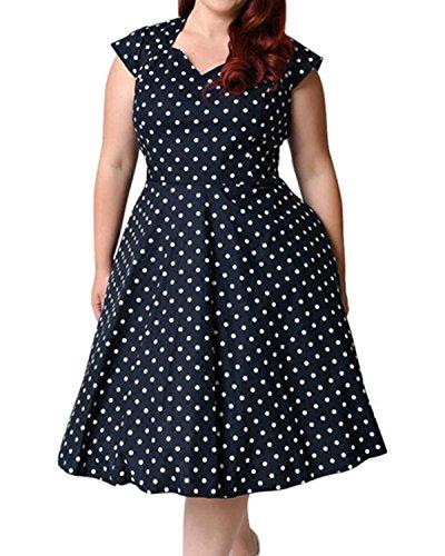 midi 50s style dress - 5