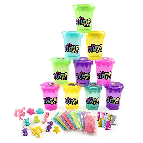 (CANAL TOYS 277055 So Slime DIY   Slime Blind Bag 10Pc Party Pack - Girls)