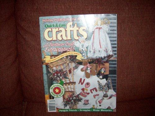 Quick & Easy Crafts Magazine DECEMBER 1998 Vol. 31, No. 6