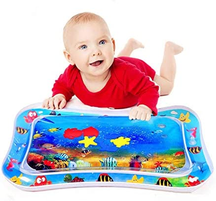 ウォーターマット 赤ちゃん ベビー用ウォーターマット ベビーアクティビティマット ひんやりマット赤ちゃん おもちゃ人気 水 空気注入式 浮き輪 ベビー プレイマット 冷感ひんやり 熱中症予防グッズ 赤ちゃんの成長 知育の促進 出産祝い お誕生日 ギフト