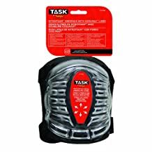 Task Tools T77705 All-Terrain Nitrofoam Kneepads with Coolmax Liner