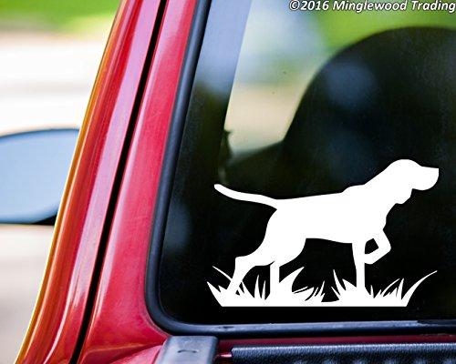 Minglewood Trading Bird Dog vinyl decal sticker 5.5
