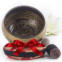 Deals on Silent Mind Tibetan Singing Bowl Set With Mallet & Silk
