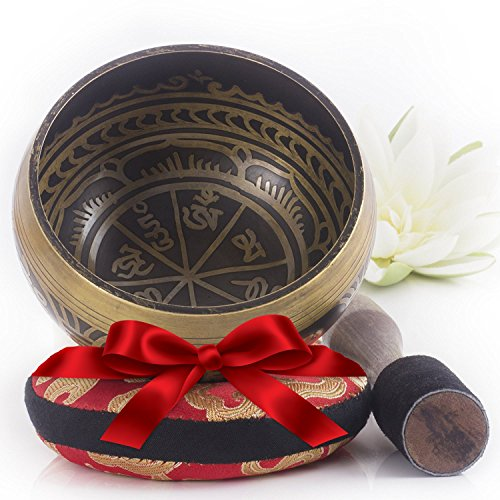 AMAZING Deal on Silent Mind Tibetan Singing Bowl Set